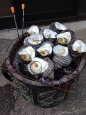 grilled whelks